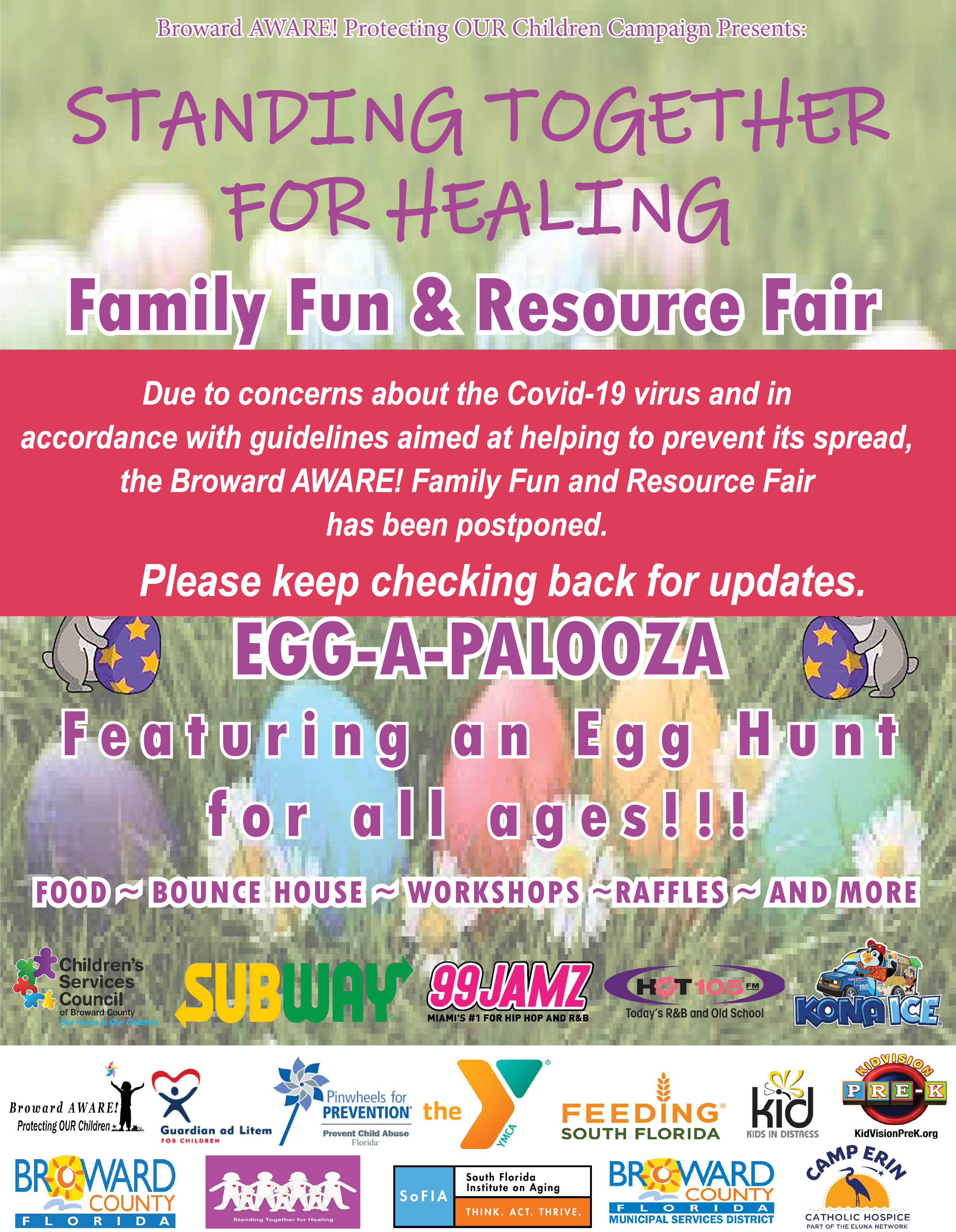 Family Fun and Resource Fair Flyer