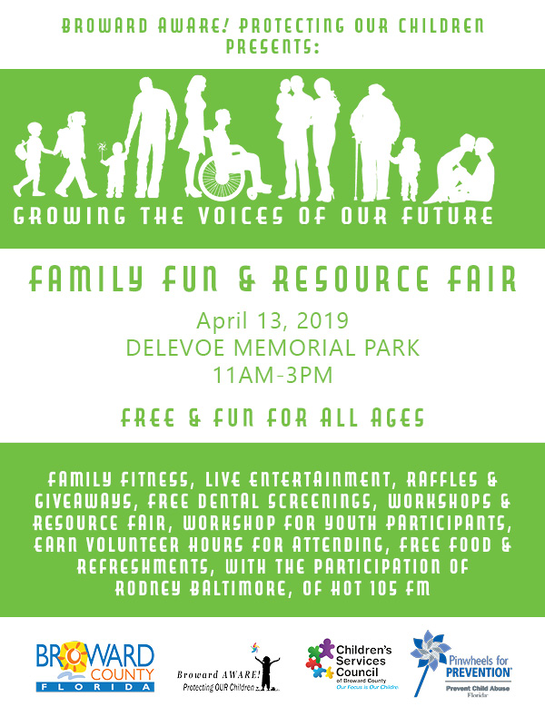 Family Fun & Resource Fair Flyer