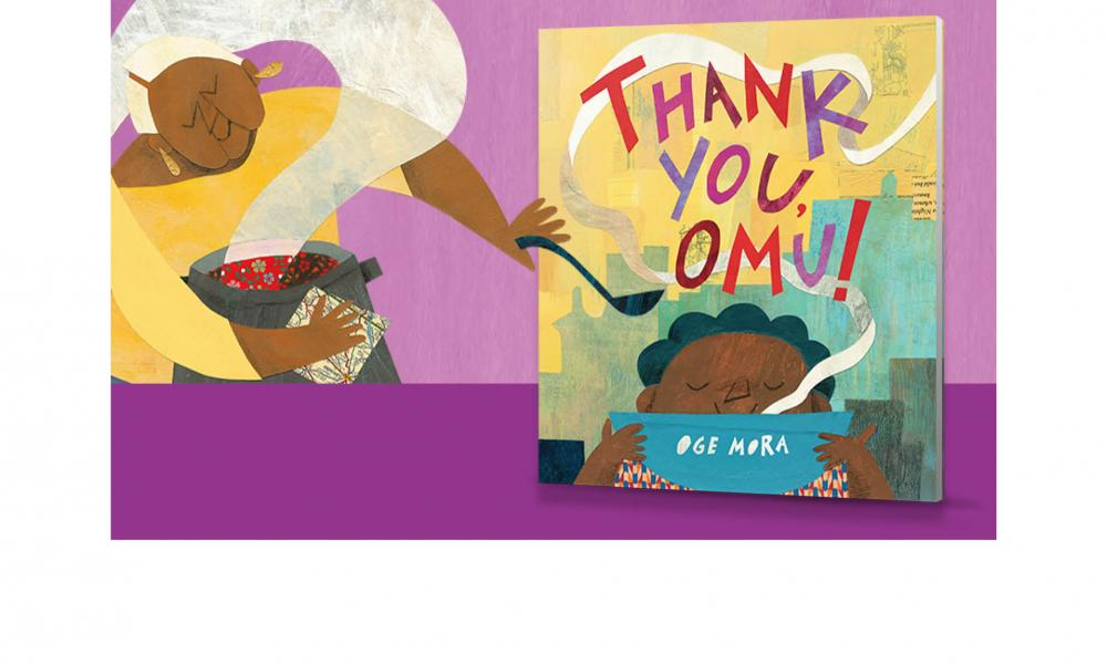 "Broward: Read for the Record Flyer featuring the Book, ""Thank You, Omu!"""