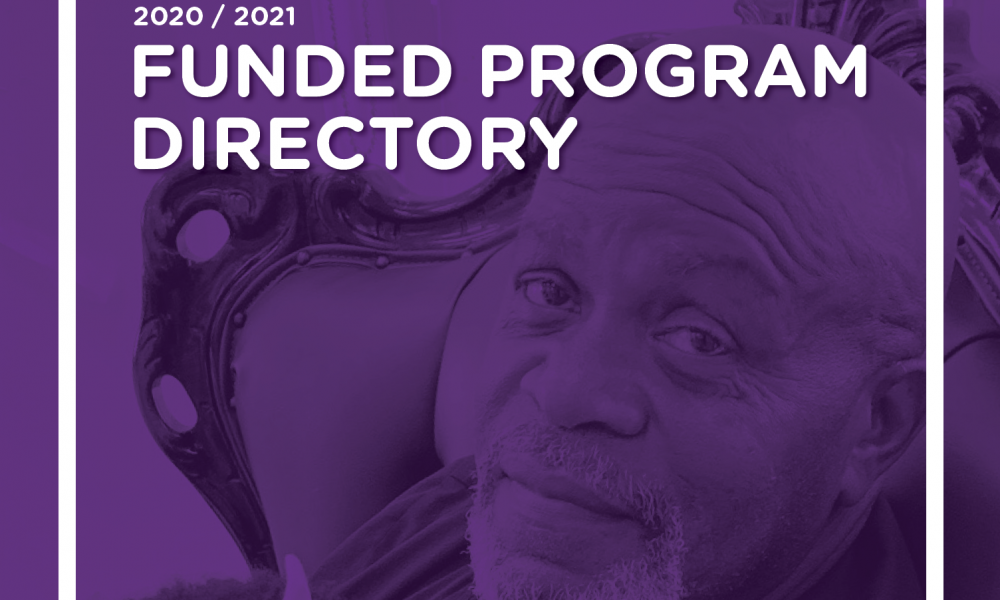 Funded Program Directory Cover